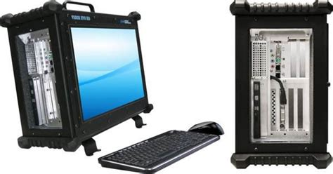 Rugged Computer Monitor by New Rugged Desktop Touts Built In Monitors Server