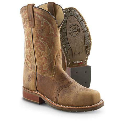 mens steel toe cowboy boots s h boots 174 steel toe western pull ons