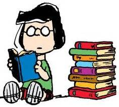 Image result for peanuts gang reading