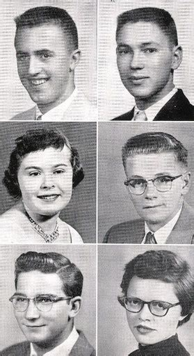 hairstyles for yearbook 1957 high school hairstyles in the yearbook of flathead