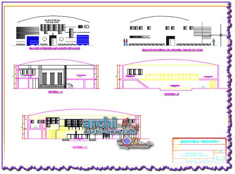 dwg format autocad 2016 download discotheque project dwg archi new free dwg file