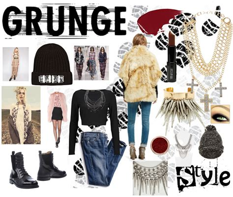 8 Items You Need For The Grunge Trend by Minc Ink The Grunge Look