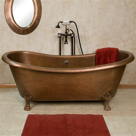 copper bathtubs copper bathtubs turning your bathroom into an antique
