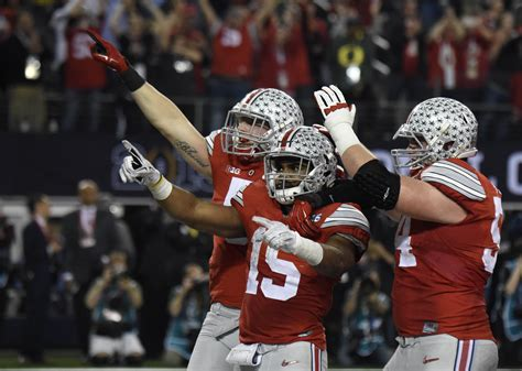 Mba Football State Chionship by Odds The Ohio State Buckeyes Repeat As College Football