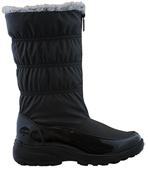 wide width snow boots totes womens rogan snow boot available in medium and wide
