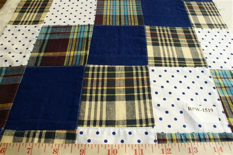 Madras Patchwork Fabric - patchwork madras fabric made in india cotton patchwork