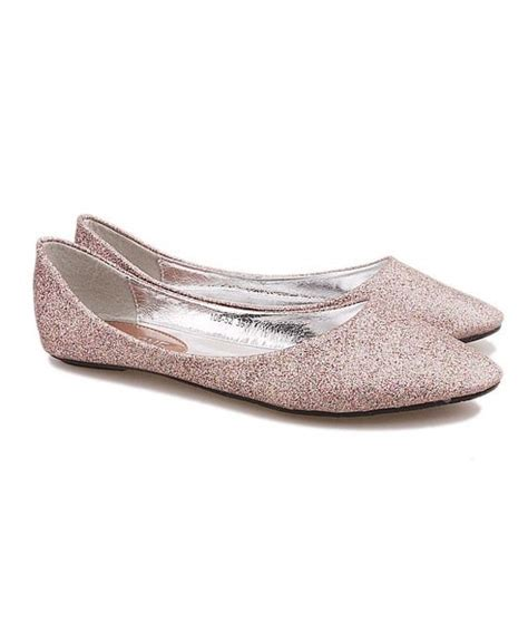 wedding shoes flats sparkle sparkly bridal flats walk a mile flat