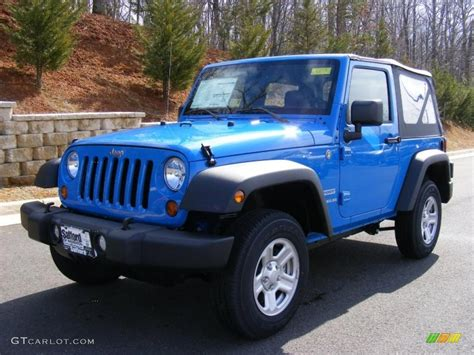jeep wrangler blue 2011 cosmos blue jeep wrangler sport 4x4 46870076 photo