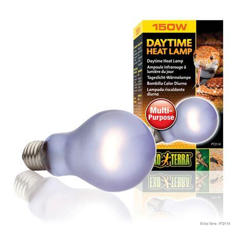 exo terra sun glo basking l 100w exo terra daytime heat l light bulb reptile