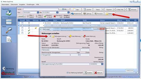 Mahnung Muster Mahnkosten Mahnwesen Software Hier Kostenlos Testen