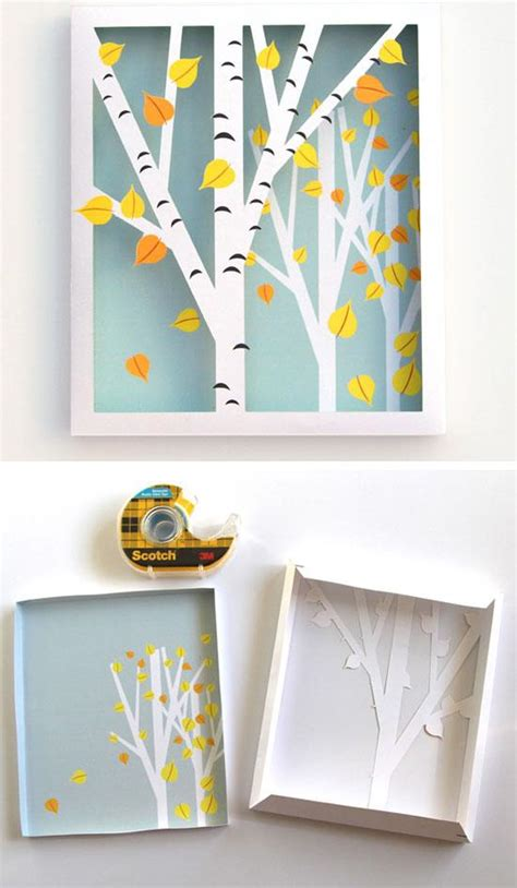 How To Decorate A Shadow Box by 35 Diy Fall Decorating Ideas For The Home Coco29