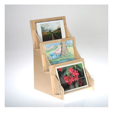 Postcard Display Rack by Postcard Display Racks And Holders From Clear Solutions