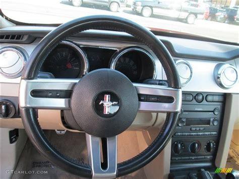 mustang gt steering wheel 2005 ford mustang gt premium convertible steering wheel