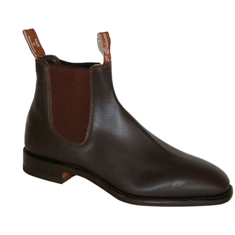 craftsman boots rm williams craftsman chelsea boot linnell countrywear