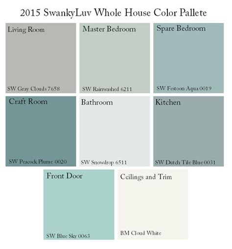 whole house paint scheme theme search home paint schemes