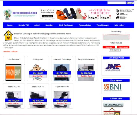 Keranjang Belanja template keranjang belanja screen free template