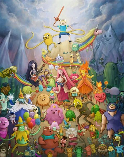 Finn Adventure Timefondos De Pantalla Hora De Aventura the cast of adventure time fondos de hora de aventura 3