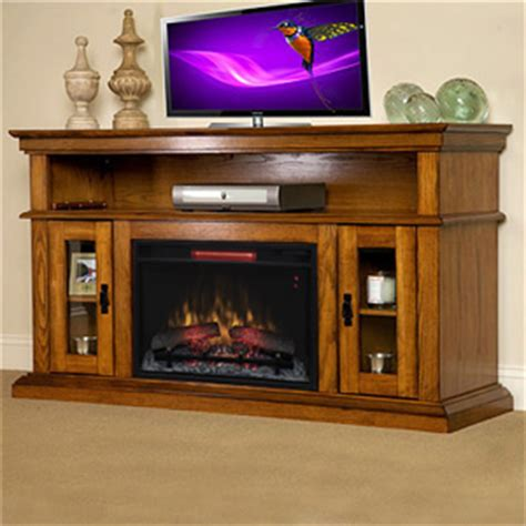 brookfield infrared electric fireplace entertainment