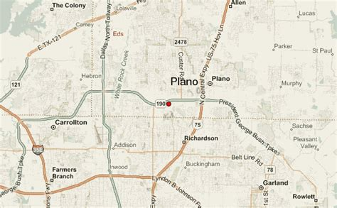 map of plano texas and surrounding areas plano location guide