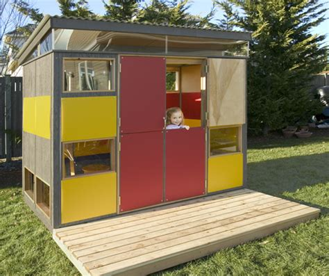 Modular Sheds Modern by Modern Play Shed Inhabitat Sustainable Design Innovation Eco Architecture Green Building