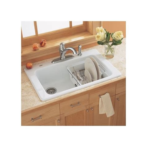 American Standard Americast Kitchen Sink Americast Kitchen Sinks American Standard Chandler Americast Bowl Kitchen Sink In Bone Ebay