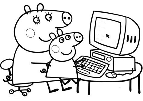 nick jr coloring pages peppa pig nick jr peppa pig coloring coloring pages