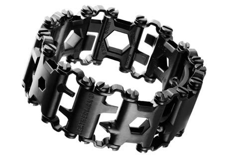 leatherman tread the leatherman tread fits a multitool onto your watchband