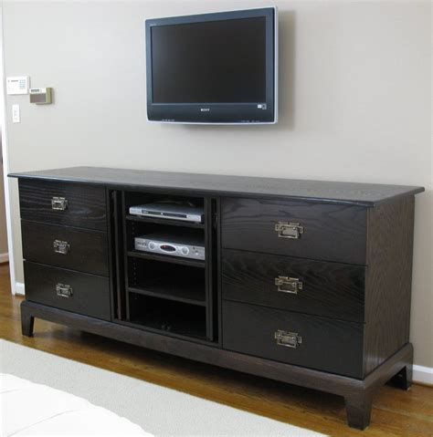 Credenza Entertainment Center crafted credenza entertainment center by rin vinson millworks custommade