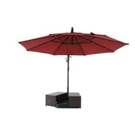 Hton Bay Patio Umbrella Base Hton Bay 3 In 1 Patio Umbrella Base Cover In Antique Bronze Fqs80039 At The Home Depot