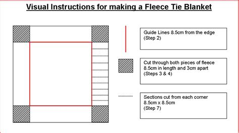 printable directions for making fleece tie blankets how to make tie fleece blankets 29 tutorials guide patterns