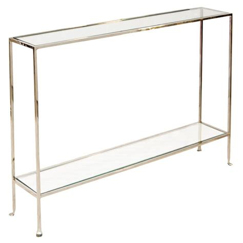 narrow glass console table 1000 ideas about narrow console table on