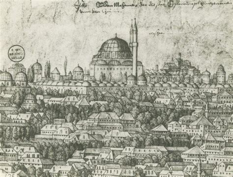 ottoman empire art and architecture ottoman empire the fatih mosque istanbul 1758 osmanlı