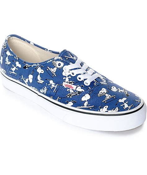 Vans X Peanuts Authentic Vans X Peanuts Authentic Snoopy Skate Shoes