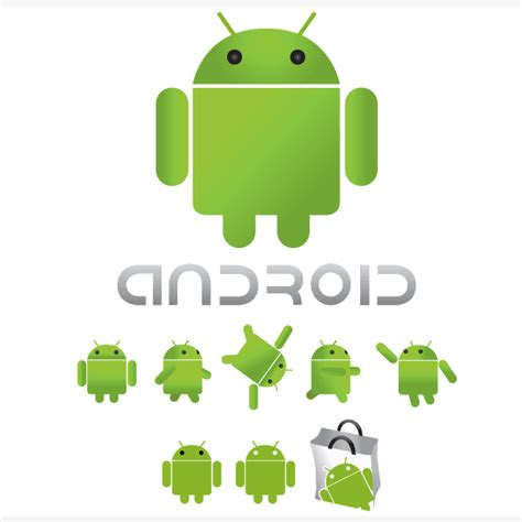 design logo android vector android logo design download free vector art