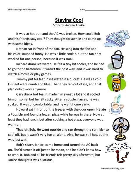 reading comprehension test practice 3rd grade reading comprehension questions for third graders the