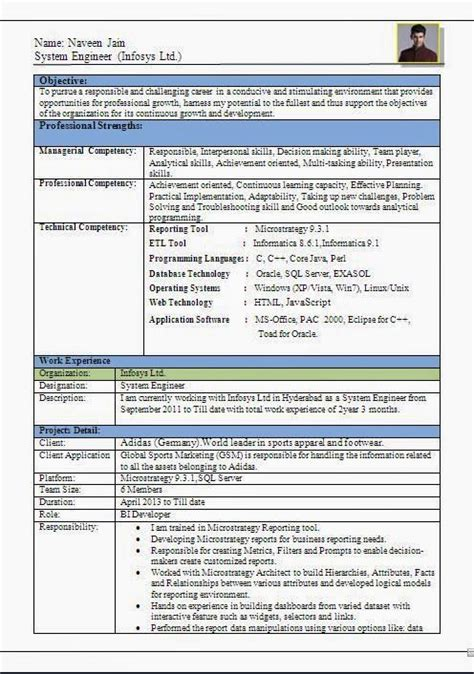 Work Experience Letter Infosys The World S Catalog Of Ideas