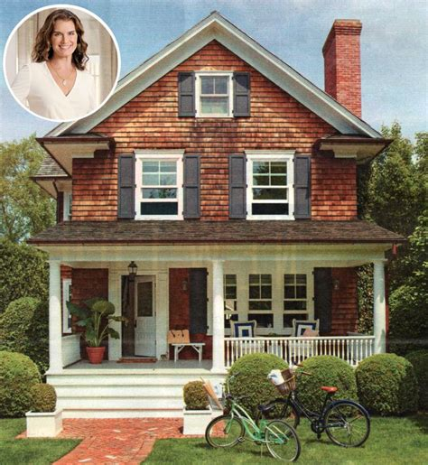 decorated homes photos how brooke shields decorated her htons house
