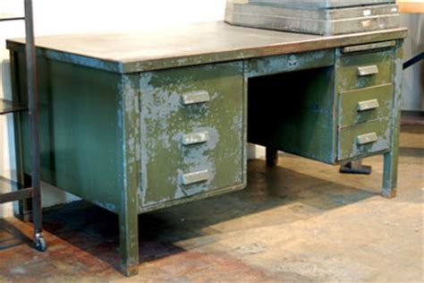 Vintage Metal Furniture For The Contemporary Worker Government Surplus Office Furniture