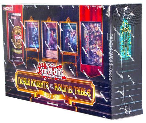 card sts konami yu gi oh noble knights of the table box set