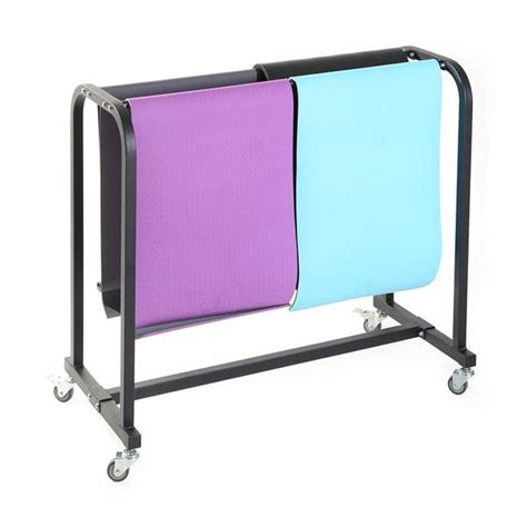 Mat Storage by Xm Mat Storage Cart Unified Fitness