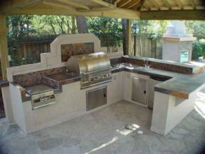 Backyard Kitchen Designs by Pics Photos Pictures Gallery Of Fancy Outdoor Kitchens