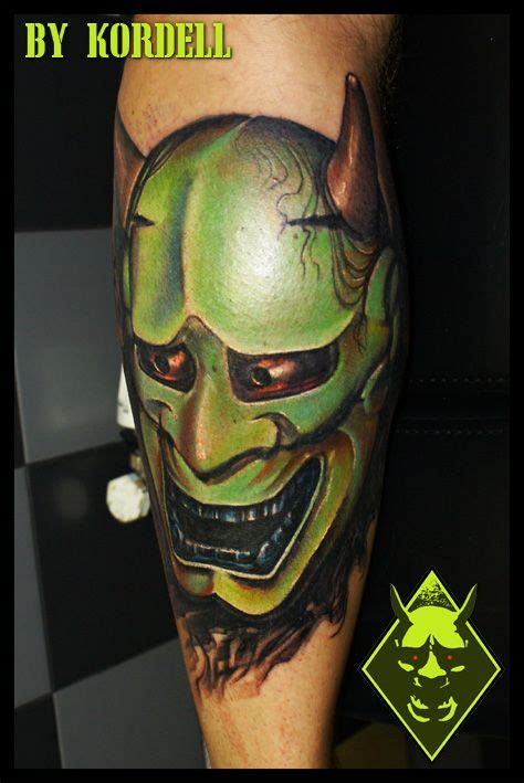 realistic hannya mask tattoo 247 best masks images on pinterest