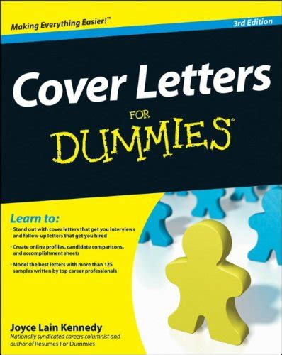 Cover Letter For Dummies by Lord Of The Just Launched On In Usa Marketplace Pulse