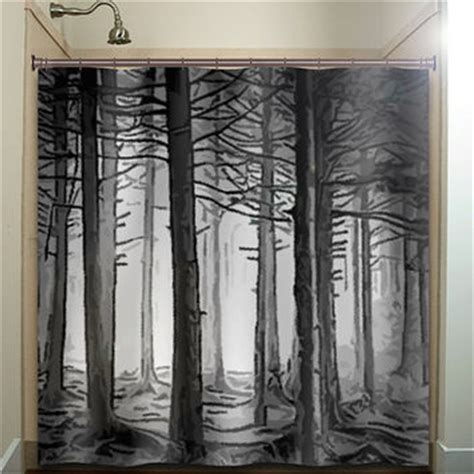 shower curtains for mens bathroom best black tree shower curtain products on wanelo