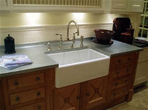 Farmhouse Sink Laminate Countertop by Flooring News Alternative Materials For Kitchen Design In