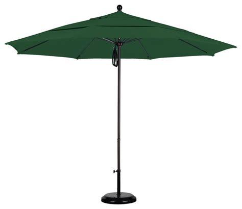 Patio Umbrella Quality Commercial Quality Sunbrella 11 Foot Aluminum Umbrella