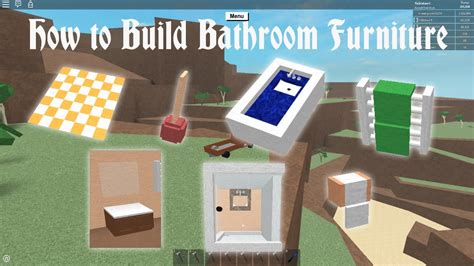 Toilet Paper Rack by Lumber Tycoon 2 How To Build Bathroom Furniture Youtube
