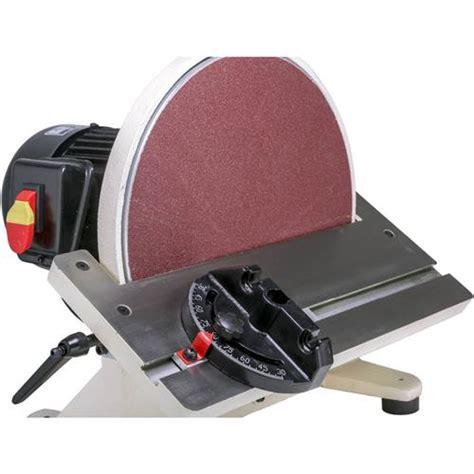 disc sander shop fox sander woodworking
