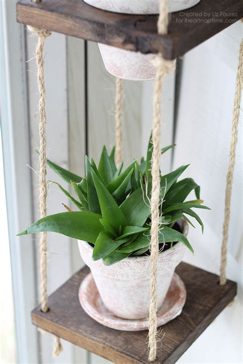 Make A Plant Hanger - diy vertical plant hanger i nap time