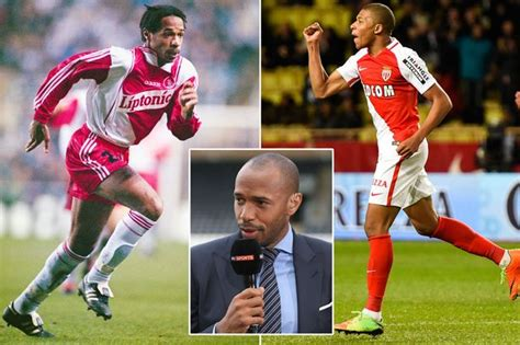 kylian mbappe thierry henry arsenal legend thierry henry has his say on the new
